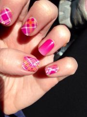 kiss ombre prissy plaid #jamberry