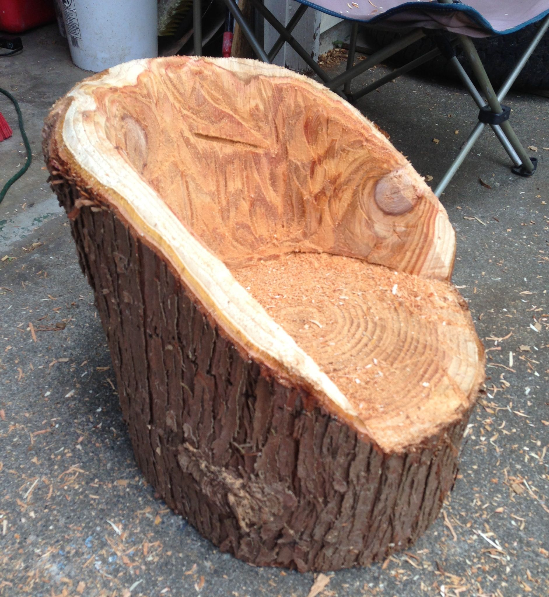 Log Table And Chairs Log Chairs For Kids Log Rustic Furniture Pinterest