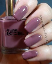 pure ice - taupe drawer nail