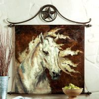 Western horse wall decor | Painted | Pinterest