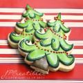Christmas tree cookies cookie decorating ideas pinterest