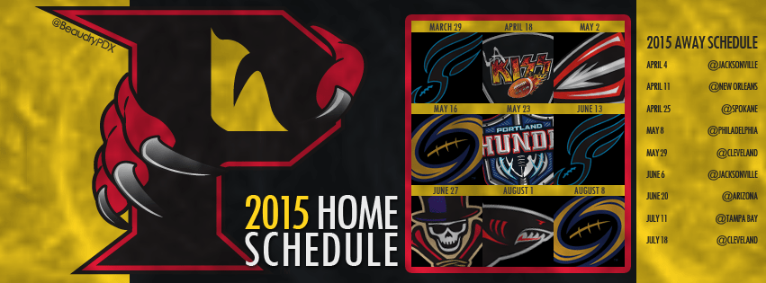 2015 Orlando Predators Schedule Cover Image
