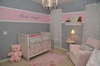 Baby Girl Room - Pink and Grey | For the Home | Pinterest