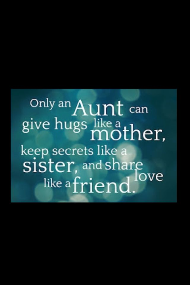Quotes And Sayings About Aunts QuotesGram