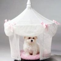 Princess dog bed