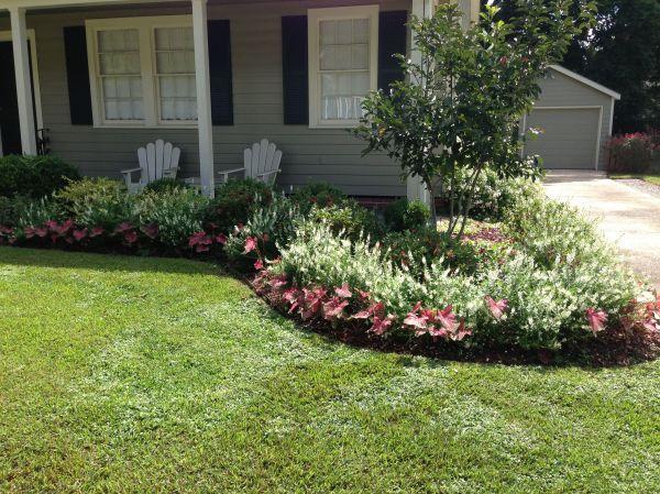 landscaping ideas flower beds