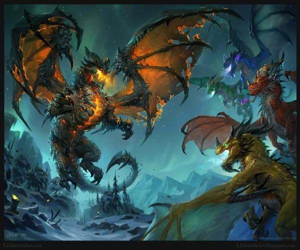 World of Warcraft Dragon Fan Art