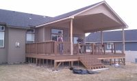 Would love a big covered deck. | Covered Deck | Pinterest