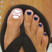 baseball softball big toe