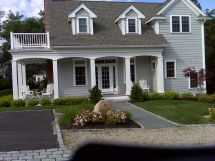 Cape Cod Style Homes with Porches