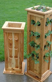 Diy - Strawberry Planter. Cool Stuff