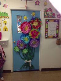 Spring classroom door. | Classroom Doors | Pinterest