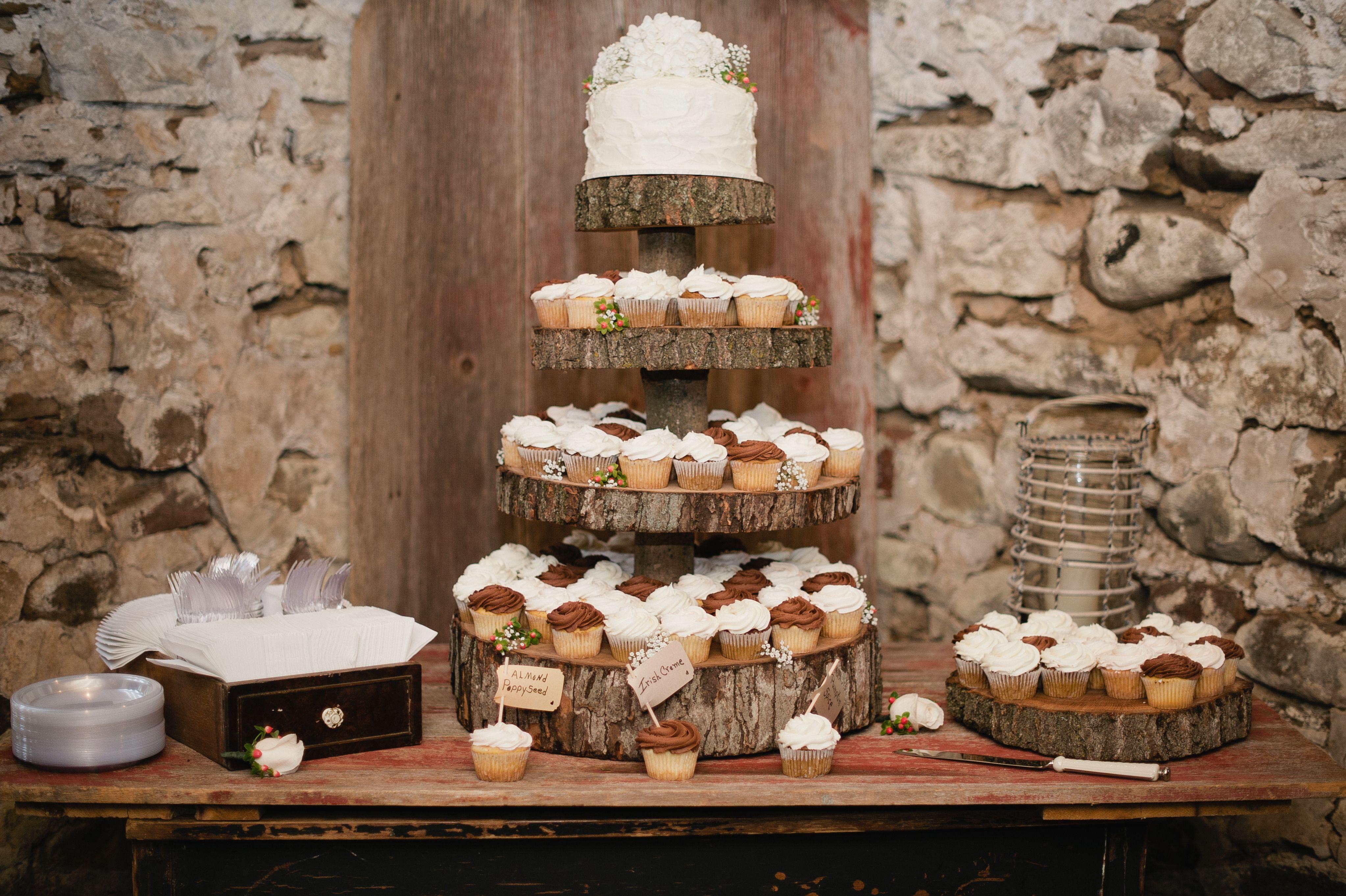 Rustic Wedding cake Wood Cake Stand  Wedding Cakes