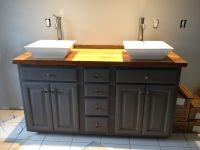 DYI Bathroom vanity | For the Home | Pinterest