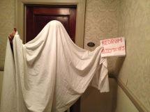 Man Snaps Haunting Shining Hotel