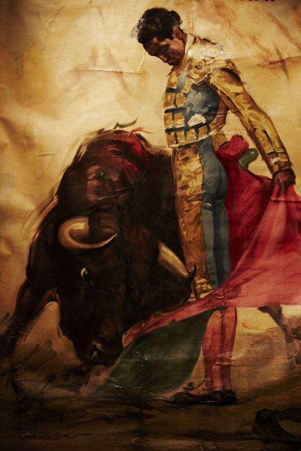 Matador Painting Mexico Art