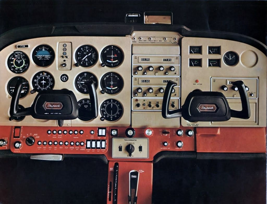 cessna 172 dashboard diagram cb450 wiring control panel get free image