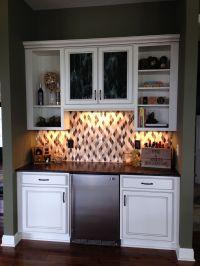 Basement Dry Bar | For the Home | Pinterest