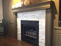 Fireplace remodel | For the Home | Pinterest