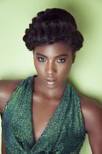 The gallery for --> Crown Braid Natural Hair
