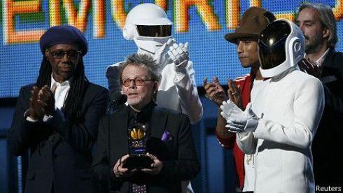 Daft Punk han sido los grandes triunfadores de la noche de los GRAMMY
