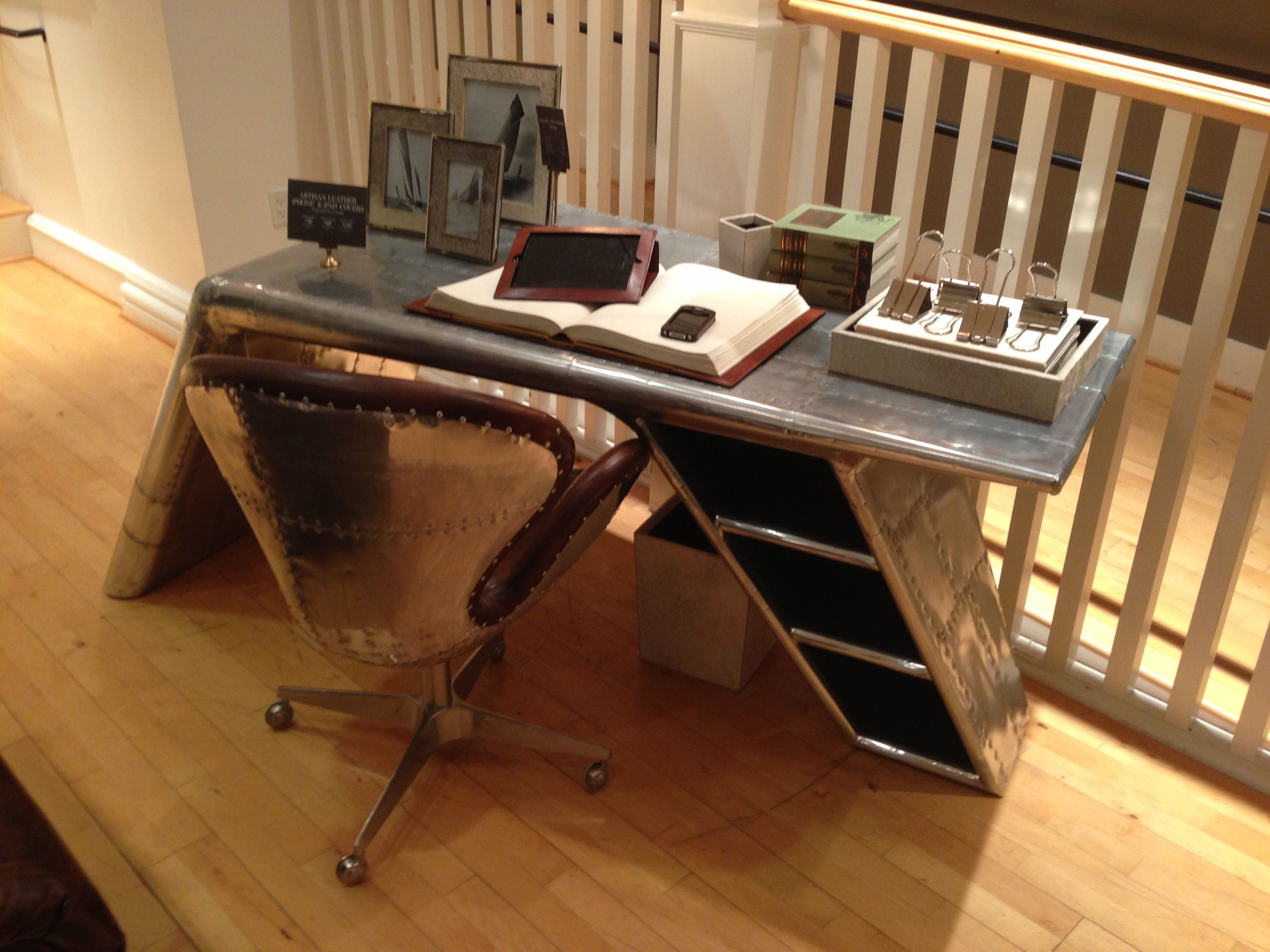 restoration hardware aviator chair used swivel in bangladesh desk offices and craft rooms