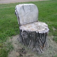 Tree Stump Chairs Round Patio Chair Cake Ideas And Designs