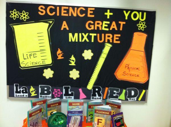 Bulletin Board Science Library
