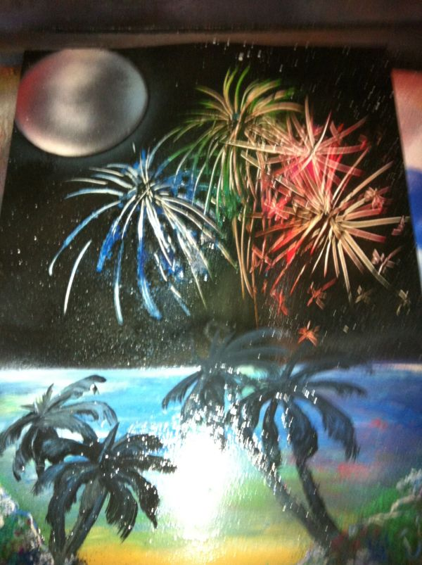 Pin Patricia Oneil Spray Paint Art Ideas