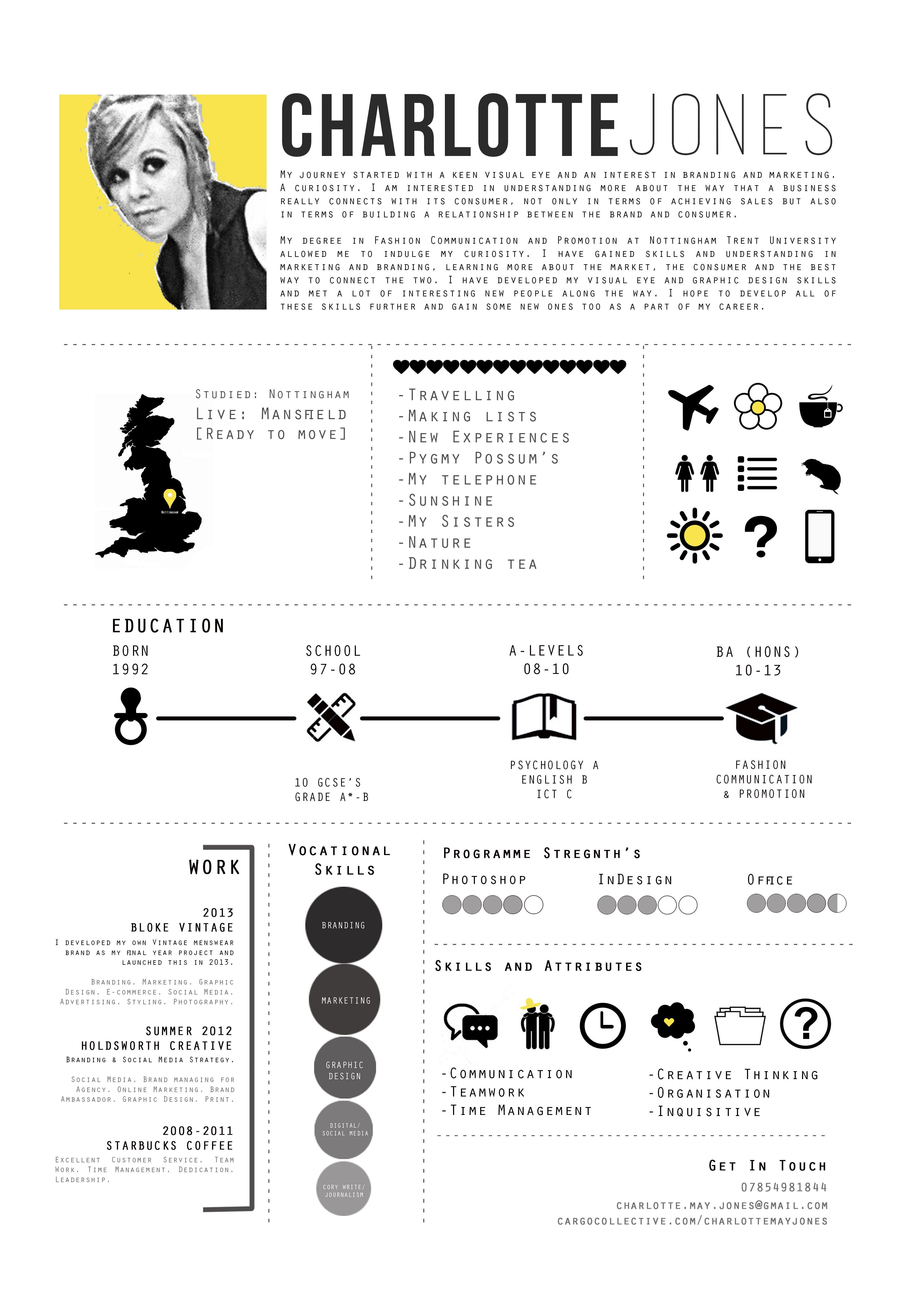 40 Creative CV Resume Designs Inspiration 2014 – Bashooka
