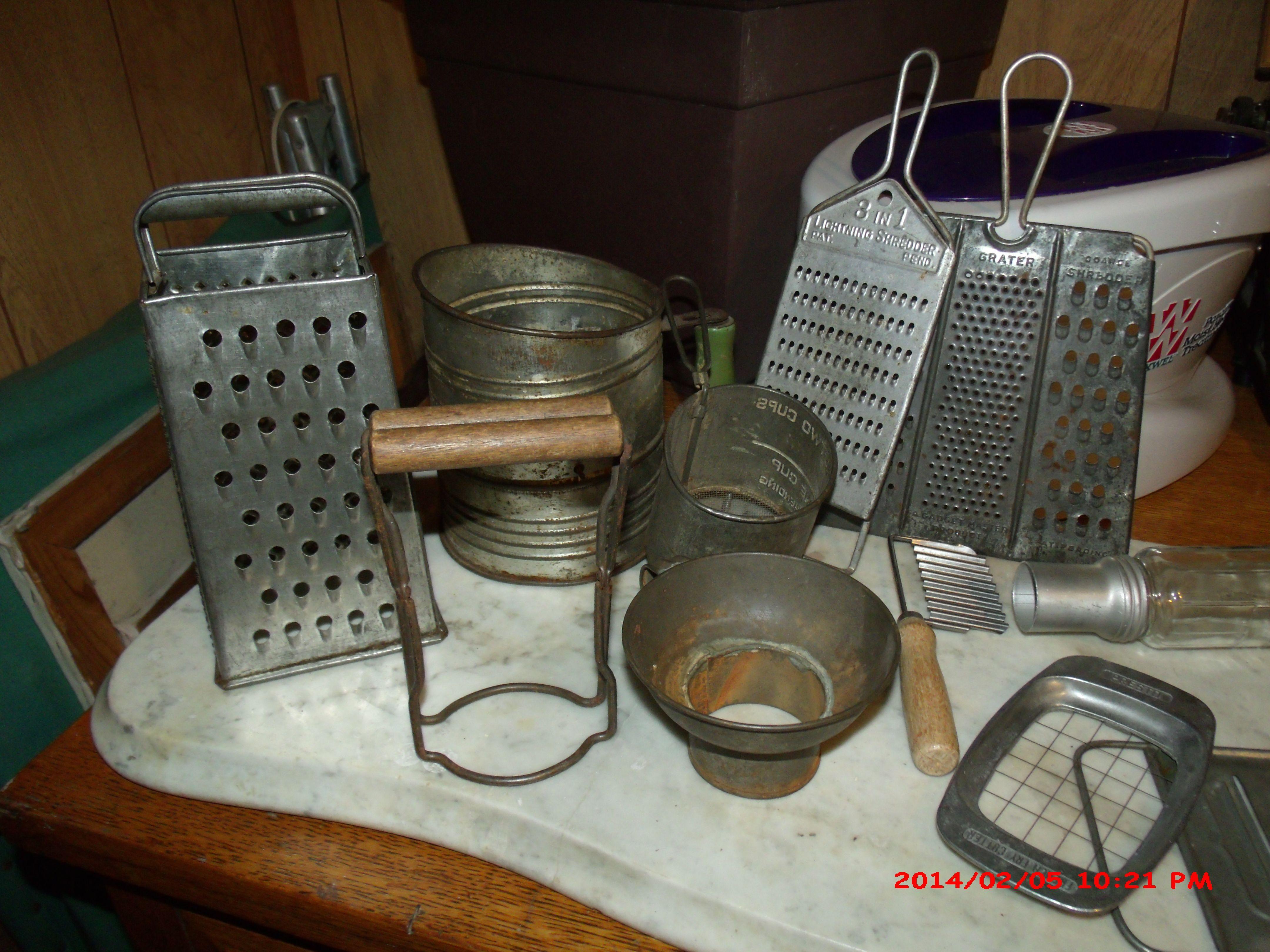 Antique kitchen gadgets  simply ideas  Pinterest