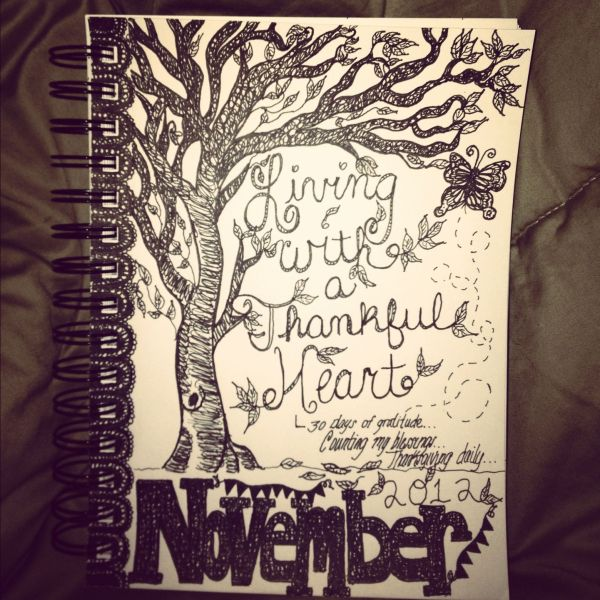 Art Journal Cover Page Education