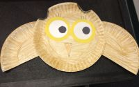Owl Paper Plate Craft | Owl Theme | Pinterest