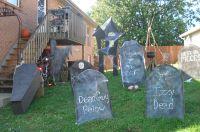 outdoor Halloween decor | My Style | Pinterest