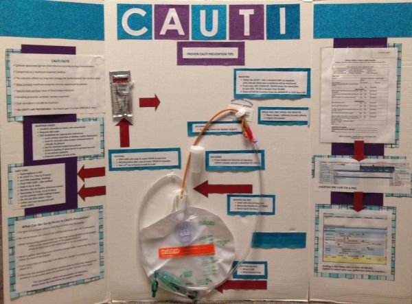 Skills Fair Poster - Proven Cauti Prevention Tips