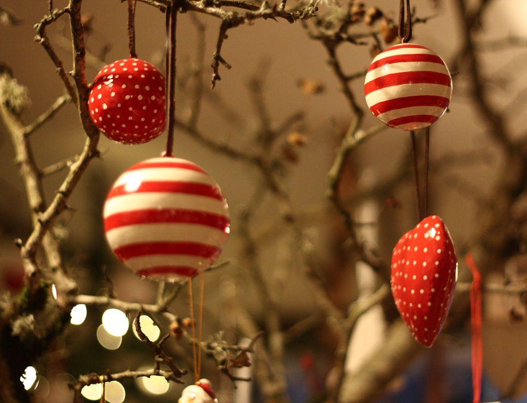 Papier Mache Christmas Tree Decorations Forest Of Dreams