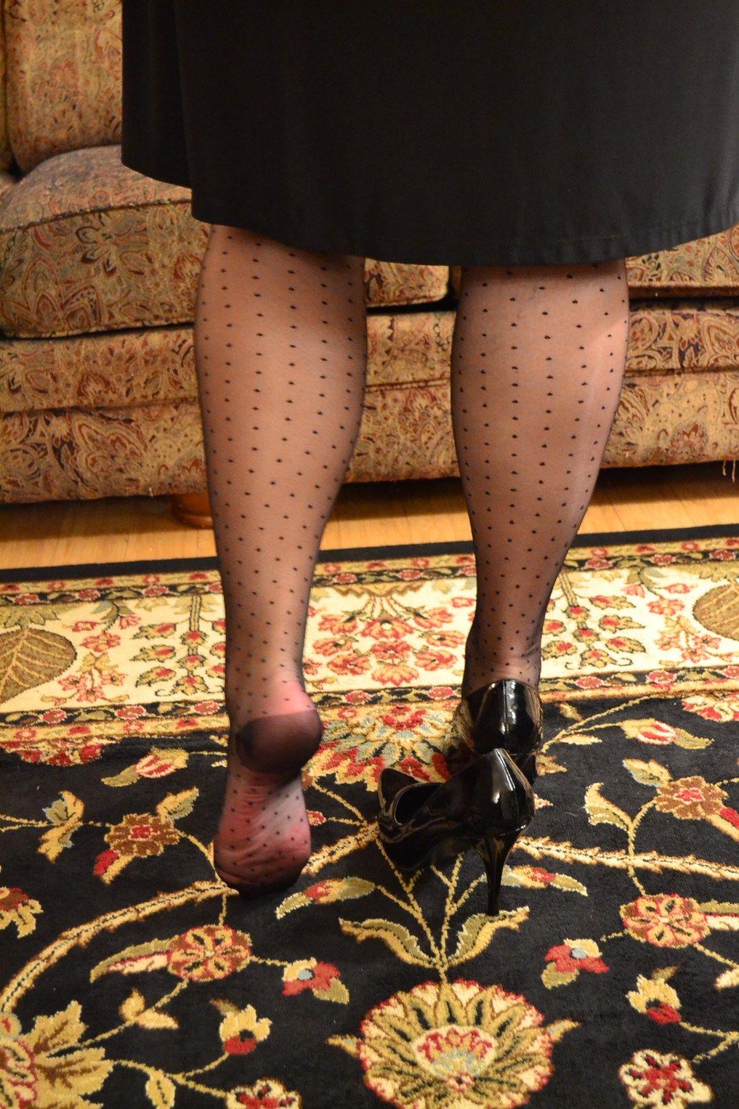 Capris Plumatis RHT stockings 100% nylon (polyamide) sheer