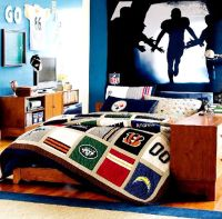Football | Boy's Bedroom Ideas | Pinterest