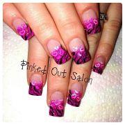 valentine nail art nails