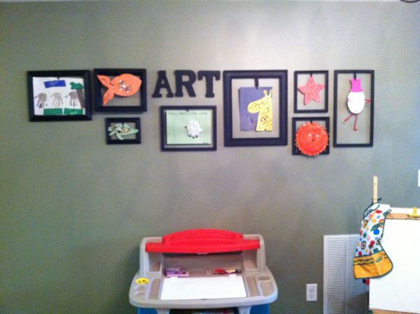 Preschool Classroom Art Gallery