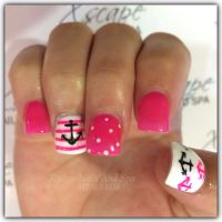 Cute Nail Designs With Crosses And Anchors | www.imgkid ...
