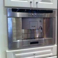 Built in coffee/espresso machine! | kitchen ideas | Pinterest