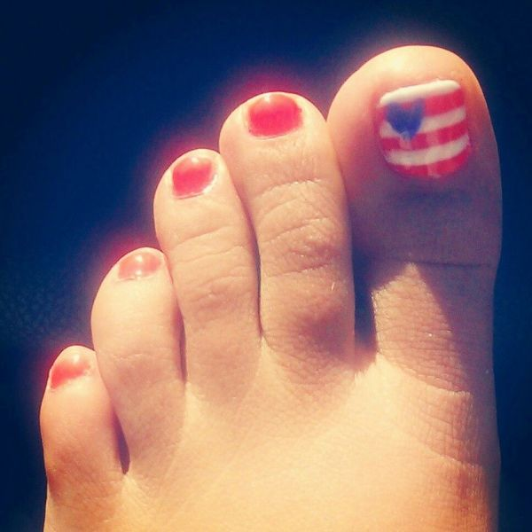 20 Red White And Blue Toenails Pictures And Ideas On Carver Museum