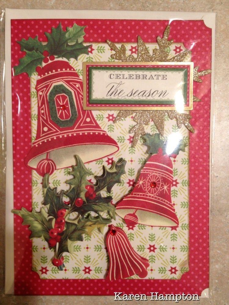 Anna Griffin Christmas Card Cards Christmas Pinterest
