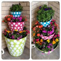 Painted flower pots | Flower pot ideas | Pinterest