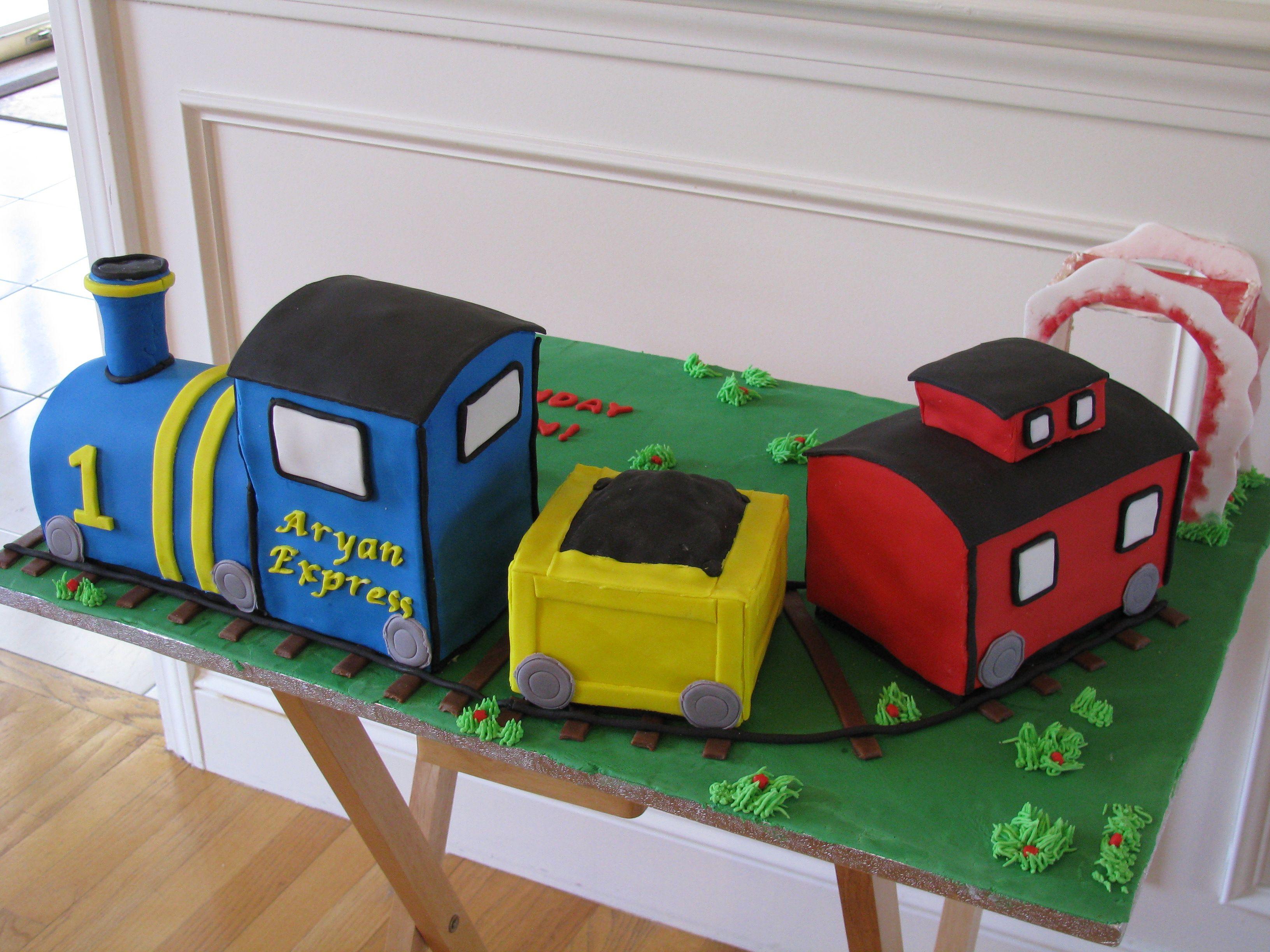 Kids Train Cake Ideas