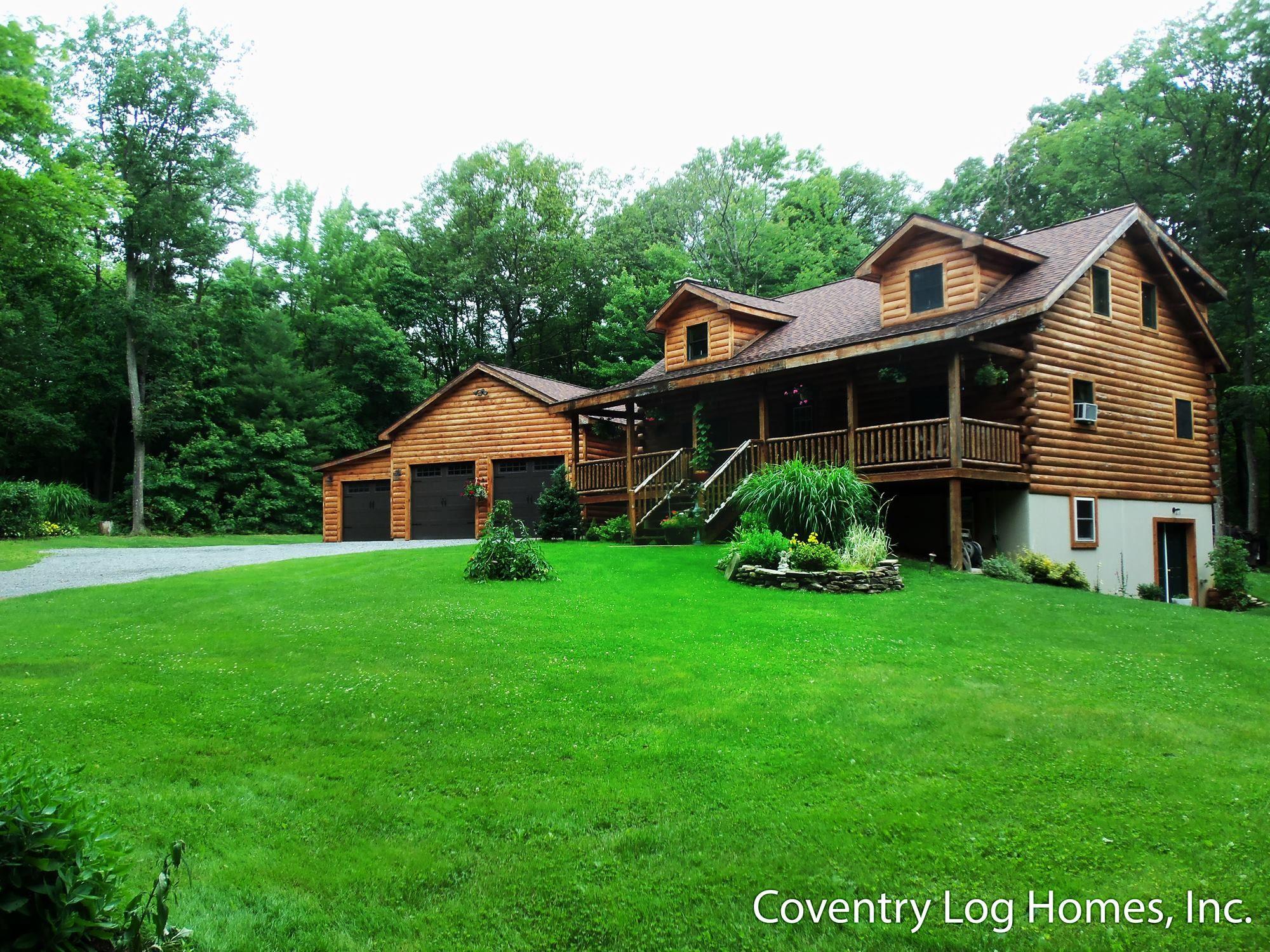 18 Surprisingly Log Home Garage  Home Plans  Blueprints