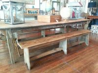 Farm table and bench | furniture | Pinterest