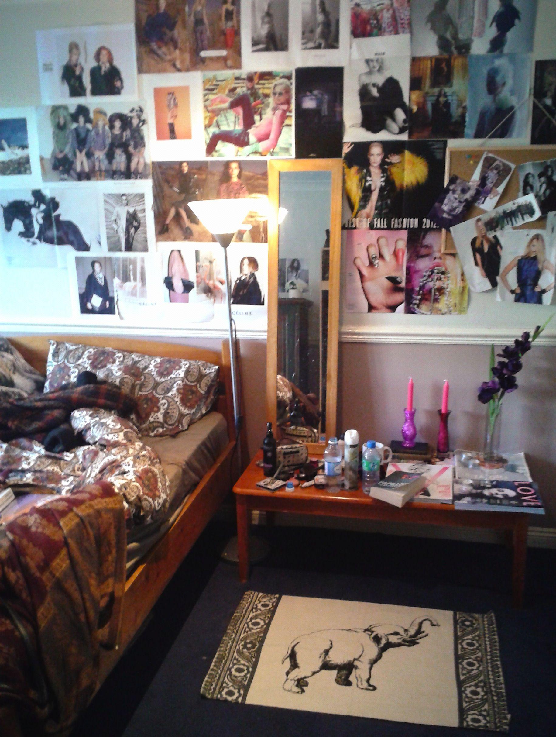 My messy bedroom  Spaces  Pinterest