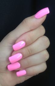 barbie pink nails calm